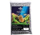 Dehner Aqua Naturkies Pandakies, Körnung 1-2 mm, 5 kg, dunkelgrau