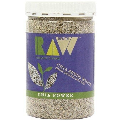 - Raw Health - Organic White Chia Seeds | 450g | BUNDLE by Raw Health