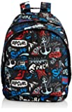 Rip Curl Mens Double Dome Lettring Backpack