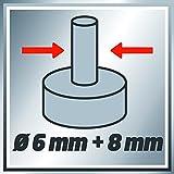 Einhell Oberfräse TC-RO 1155 E (1100 W, Ø 6 und 8 mm, Drehzahlregelung, Parallelanschlag, Absaugadapter, inkl. Zubehör) - 8