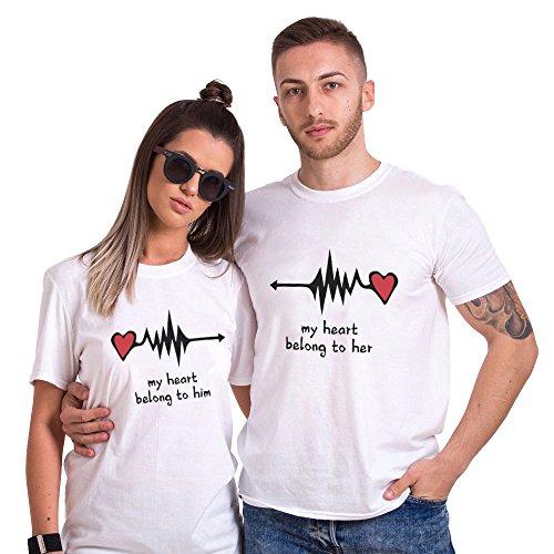 guapo amplia selección de colores y diseños comprar lujo ▷ Camisetas para enamorados   PARAENAMORADOS.SHOP