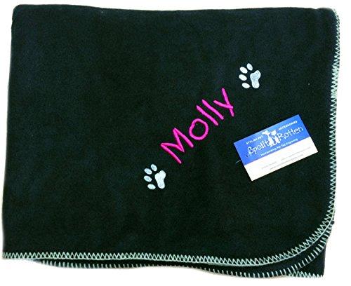 spoilt-rotten-pets-black-gorgeous-quality-thick-polar-fleece-xl-size-175cm-x-140cm-dog-blanket-suita