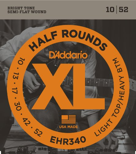 D'Addario EHR340 - Juego de cuerdas para guitarra eléctrica.010 - .052