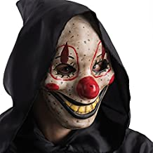 Carnival Toys 783 - Máscara de payaso de terror, con mandíbula móvil, ...
