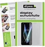 dipos I 2X Schutzfolie matt kompatibel mit BQ Aquaris X Folie Bildschirmschutzfolie