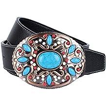 Baoblaze Cinturones para Correas para Mujer Hombres Complimentos Anchos  Duradero 69e6b88b9763