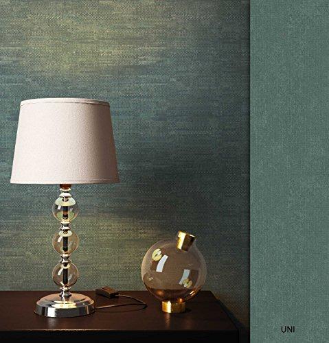 NEWROOM Tapete Grün Streifen Linien Modern Vliestapete Vlies moderne Design Optik Streifentapete Landhaus inkl. Tapezier Ratgeber