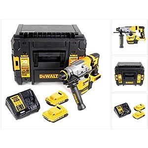 DeWalt DCH 283 D2 Akku Kombihammer 18V 2,8J SDS plus Brushless+ 2x Akku 2,0Ah + Ladegerät + TSTAK