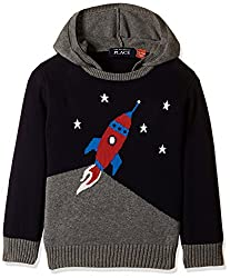 The Childrens Place Boys Sweater (2074501IV_Tidal_5 Toddlers)