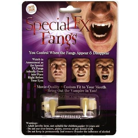 Dientes de vampiro retráctiles - colmillos FX especiales