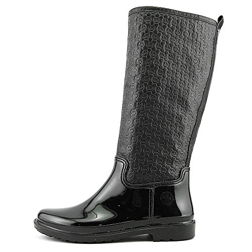 Michael Michael Kors Blakeley Rainboot Cuir Botte de Pluie Black