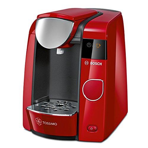 513WwutgXoL. SS500  - Bosch TAS4503 coffee maker - coffee makers (freestanding, Fully-auto, Pod coffee machine, Coffee, Caffe crema, Cappuccino, Coffee, Espresso, Latte macchiato, Red)
