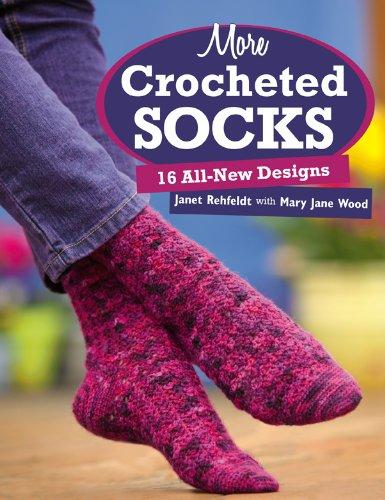 More Crocheted Socks: 16 All-New Designs (English Edition) Beaded High Heel Heels