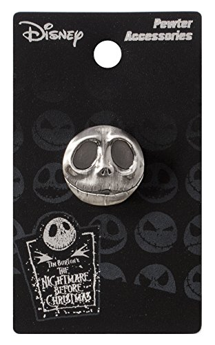 (Nightmare Before Christmas Jack Pewter Pewter Lapel Pin)