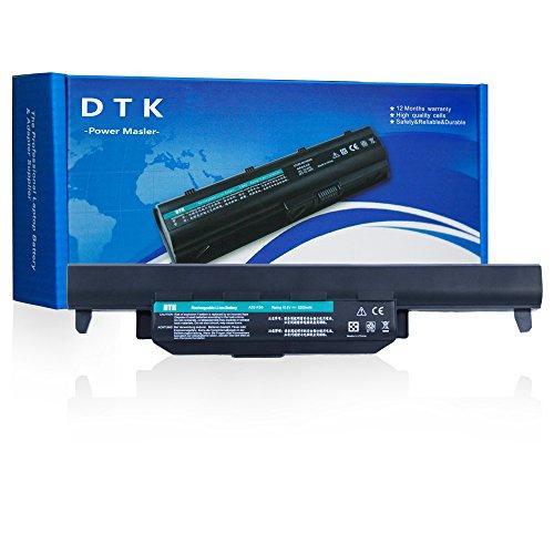 Dtk® Ultra Hochleistung Notebook Laptop Batterie Li-ion Akku für Asus R500V A45 A55 A75 K45 K55 K75 R400 R500 R700 U57 X45 X55 X75 Series - fits P/N A32-K55 / A33-K55 / A41-K55 / A42-K55 [6-Cell 4400mAh/58Wh] Notebook Battery
