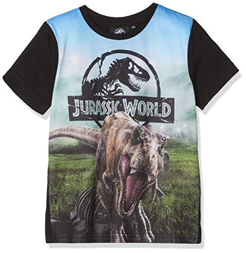 Jurassic Park Jungen Dinosaur T-Shirt, Blau (Blue), 3-4 Jahre (Junge Aus Jurassic Park)