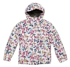Ripcurl Tutti Fruity Girls Snow Jacket - White, Size 8