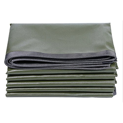AAA Lona de lona gruesa al aire libre impermeable sunscreen del parasol del coche interior de la cubierta del hogar del paño de la lona portátil portátil fácil de plegar tamaño de la lona: 2 * 4 m
