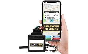 Aware Fahrzeug-Ortungsgerät, GPS- und GPS-Gerät, Verkabelt, Wired +1 Month