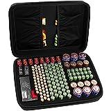 Boîte de Rangement de Batterie, Organisateur de Stockage de Batterie - Peut contenir 142 Piles AA AAA C D 9V - Compatible avec Le testeur de Piles BT-168D