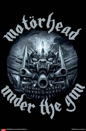 Poster: Motoerhead poster - Under The Gun (36 x 24 pollici)