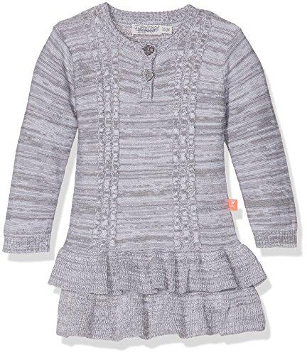 Dirkje Unisex Baby Rock Dress Knitted Grau, 6 Monate (Herstellergröße: 68)
