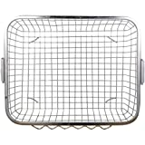 #9: Planet Premium High Grade Stainless Steel Dish Drainer (Size:54 x 42 x 20 cm) Lifetime Warranty