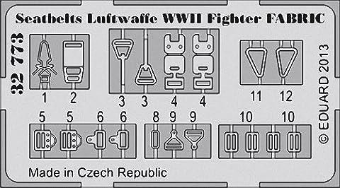 Eduard Photoetch 1:32 - Seatbelts Luftwaffe WWII Fighter Fabric (EDP32773)