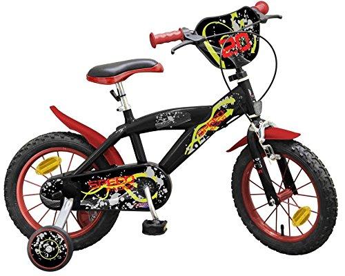 """14"""" 14 Zoll Kinderfahrrad Kinder Jungen Fahrrad Rad Bmx Bike Jungenfahrrad SPEED ROT"""