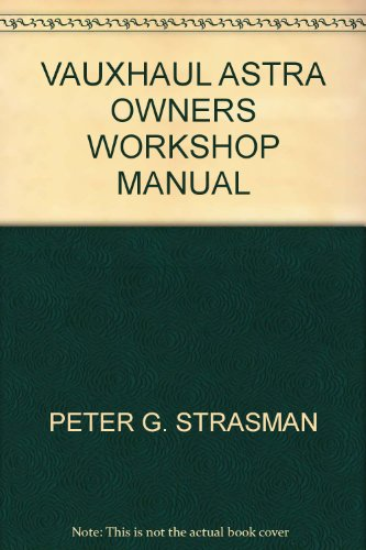 vauxhaul-astra-owners-workshop-manual