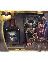 Batman Vs Superman 50ml Edt Fragrance Scent & Body Spray Duo Gift Set For Him