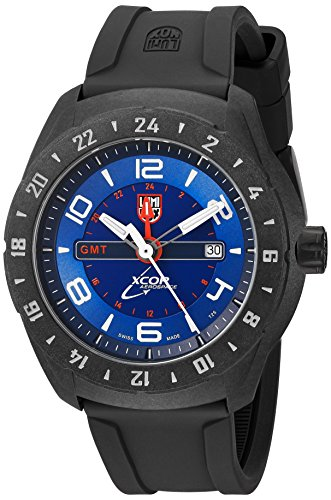 Luminox Men's 'SXC Space' Swiss Quartz Resin and Rubber Casual Watch, Color:Black (Model: 5023)