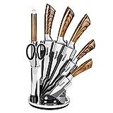 Joc de ganivets de cuina d'acer inoxidable Velaze