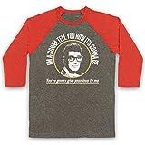 Photo de Inspired Apparel Inspire par Buddy Holly Not Fade Away Officieux 3/4 Manches Retro T-Shirt de Base-Ball par Inspired Apparel