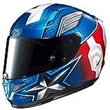 HJC Rpha 11 Captain America Marvel Casque - MC-2, L (58/59)