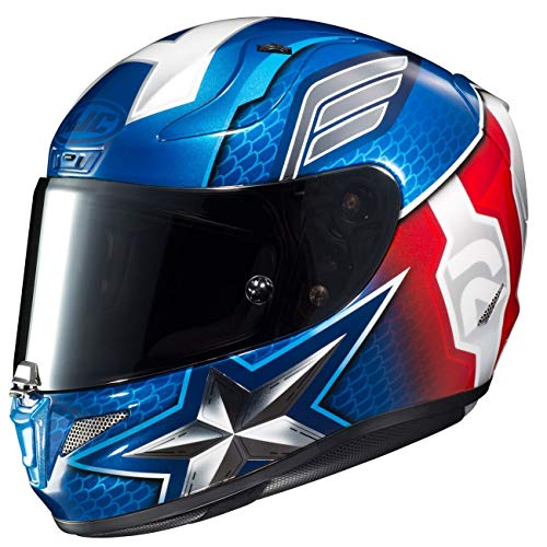 HJC Casco RPHA11 Captain America Marvel MC2 M