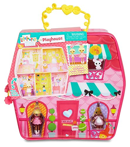 Lalaloopsy Mini Stil 'n' Swap Carry Along House (Lalaloopsy Puppen Neue)