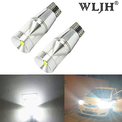 Lampadina LED WLJH 2x T10 Cree Error Free Canbus 168 194 921 LED Lampadina di ricambio