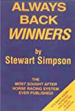Best Books On Horse Racings - Always Back Winners: How to Win on the Review