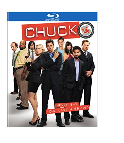 Chuck: The Complete Fifth Season [Blu-ray] [Import anglais], Episodes DVD/BluRay