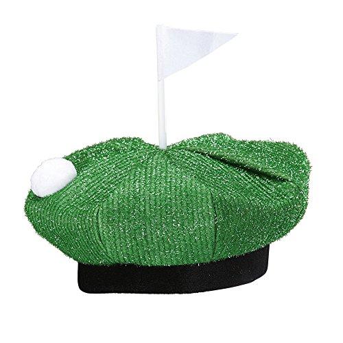 Widmann 02430 Golf Hut für Erwachsene, One Size (Golf Kostüm Ideen)