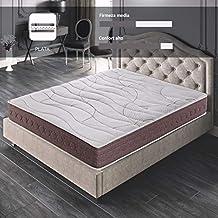 ROYAL SLEEP Colchón viscoelástico 105x190 firmeza Media, Alta Gama, Confort y adaptabilidad Total,