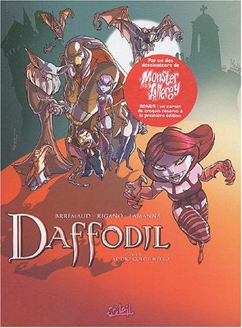 Daffodil, tome 1 : Addio-Colonnello (+ un cahier noir et blanc de 8 pages)