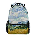 FAJRO- Mochila de Viaje, diseño de Van Gogh Bloembedden, Color 7, tamaño Talla única