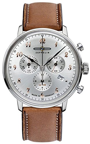 Zeppelin Armbanduhr 7088-5 Herrenuhr