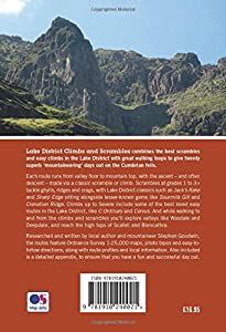 Lake District Climbs and Scrambles: Mountaineering Days Out on the Lakeland Fells, Stephen Goodwin