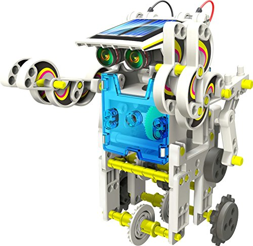 Solarbot 14 in 1 corredo alimentato robot educativo solare
