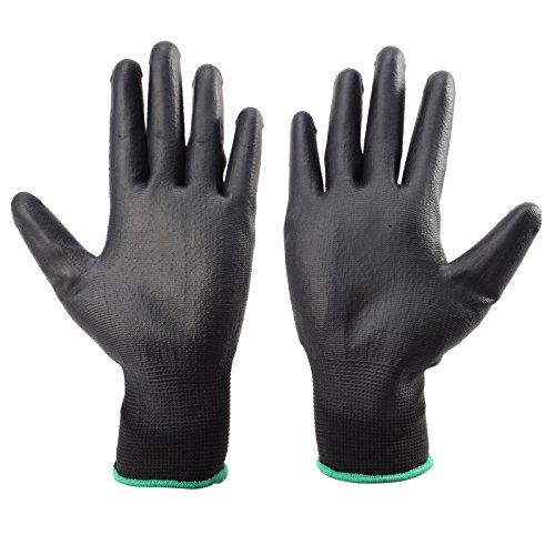 12 Paar Arbeitshandschuhe Handschuhe Montage-Arbeitshandschuhe Schutzhandschuhe M