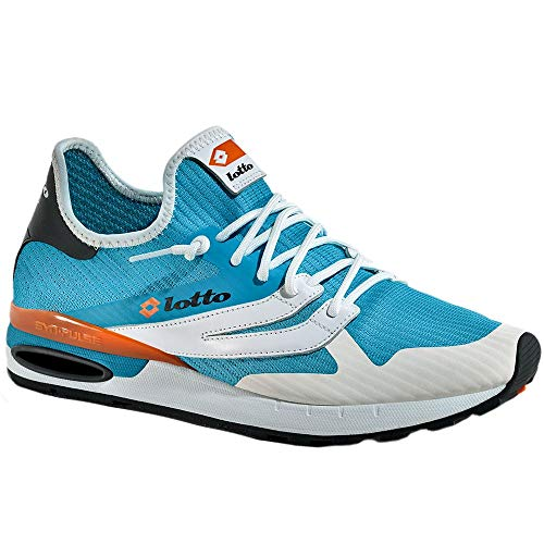 Lotto Leggenda Scarpe 211147 1YF Blue Run Light bay Carrot Oran Moda Uomo