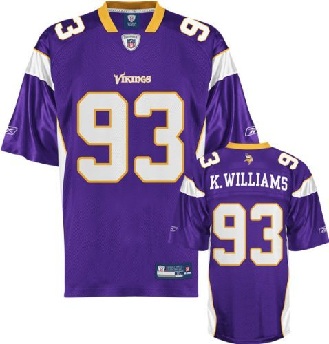NFL Football Trikot Jersey Premier MINNESOTA VIKINGS Kevin Williams #93 in L (LARGE)
